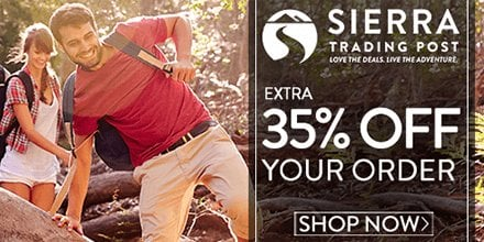 35% Off Sitewide at Sierra Trading Post!