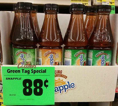 CHEAP Snapple Tea at Walmart, Buy For Less & Homeland!