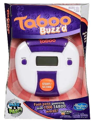 Hasbro Taboo Buzz'd Game only $5.45 (reg $19.99)!
