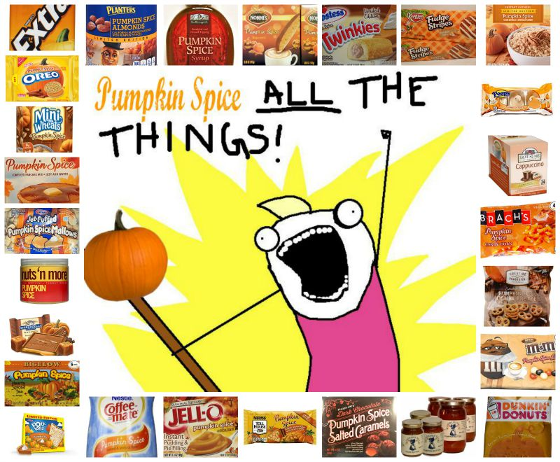 A Round-Up Of All Things Pumpkin Spice!