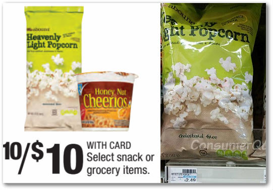 Abound Heavenly Popcorn – 2 FREE Bags at CVS