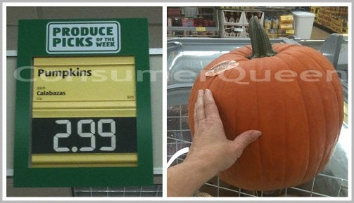 Aldi Pumpkins Are Back – ONLY $2.99 For a Big One