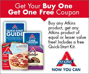 Atkins BOGO Coupon and Quick-Starter Kit