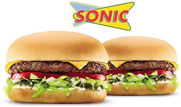Sonic Drive-In: 1/2 Price Cheeseburgers ALL DAY Today!