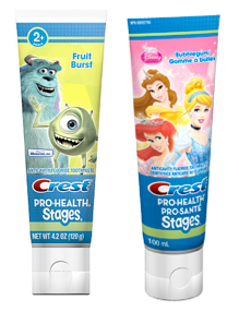 Crest Pro-Health Stages Toothpaste 47¢ at Walgreens