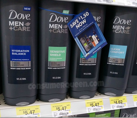 Dove For Men Body Wash As Low As Free At Walmart