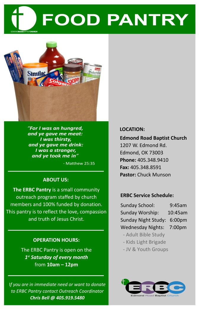 Edmond Road Food Pantry