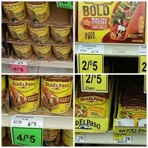new old el paso coupons deals at crest foods. Black Bedroom Furniture Sets. Home Design Ideas