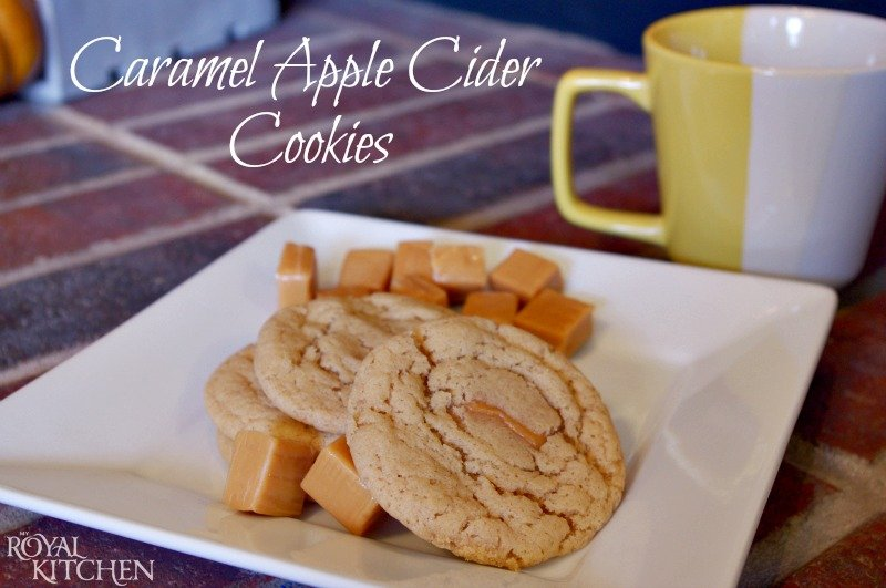 Caramel Filled Apple Cider Cookies (2a)
