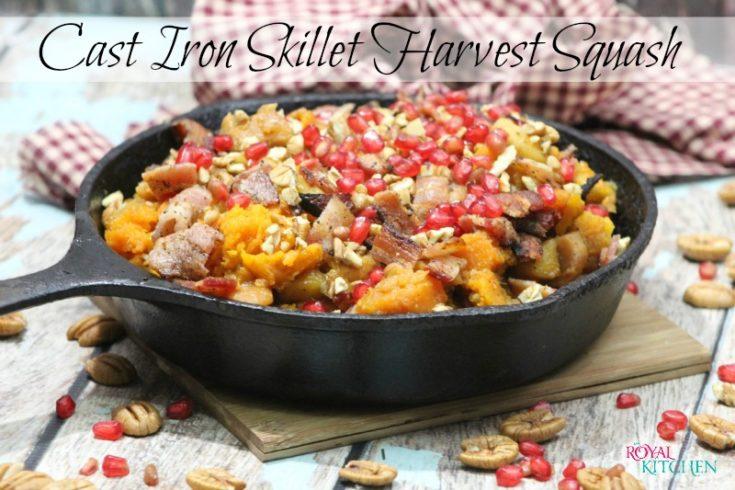 Cast Iron Skillet Harvest Squash