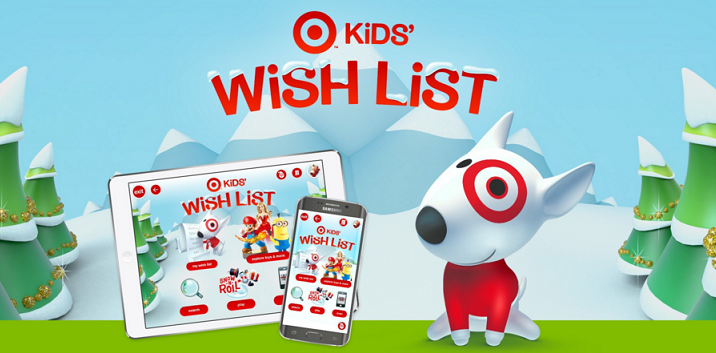 Download The Target Kid's Wish List App & Get 10% Off