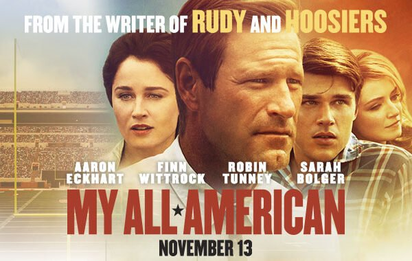 MY ALL AMERICAN Advanced Movie screening – FREE MOVIE (MD ONLY)