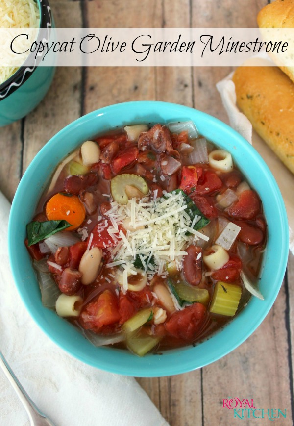 Olive Garden Minestrone Soup Recipe Crock Pot Slow cooker copycat olive garden minestrone olive garden minestrone final 7 workwithnaturefo
