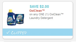 Oxiclean Laundry Detergent FREE at Walgreens