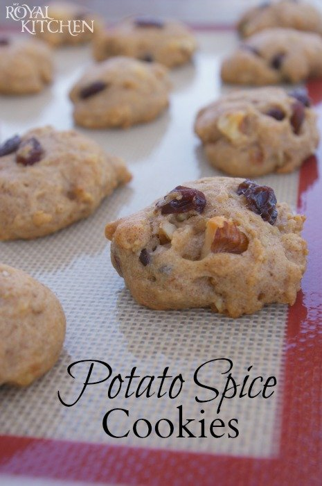 Potato Spice Cookies