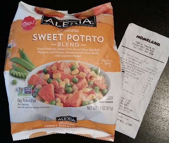 Alexia Frozen Side Dishes 99¢ at Homeland and Country Mart!
