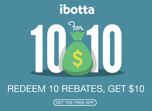 New ibotta Users – Earn $2.50 in Rebates and Get a $10 BONUS!