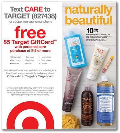 Hot Deal on Natural & Organic Shampoo at Target
