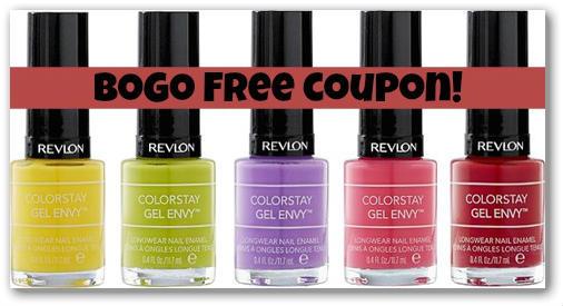 Revlon Nail Color BOGO Free Coupon + Walmart Deal