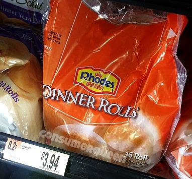 Rhodes Rolls As Low As 69 At Homeland Walmart Deal