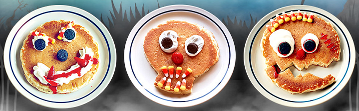 FREE Scary Face Pancakes For Kiddos at IHOP -October 31st!