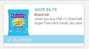Brach's Sugar Free Hard Candy $1.23 at Walgreens