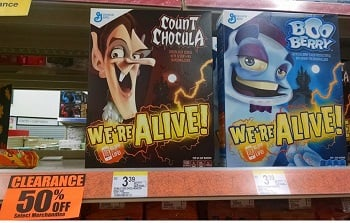 Count Chocula, Boo Berry and Frankenberry $1.49 at Walgreens