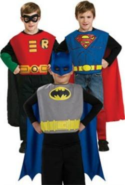 DC Superhero Costume Set- 3 Costumes for $16.72 on Amazon!