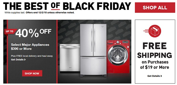 Lowe's Black Friday Deals