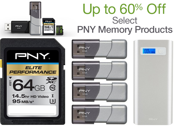 PNY memory products