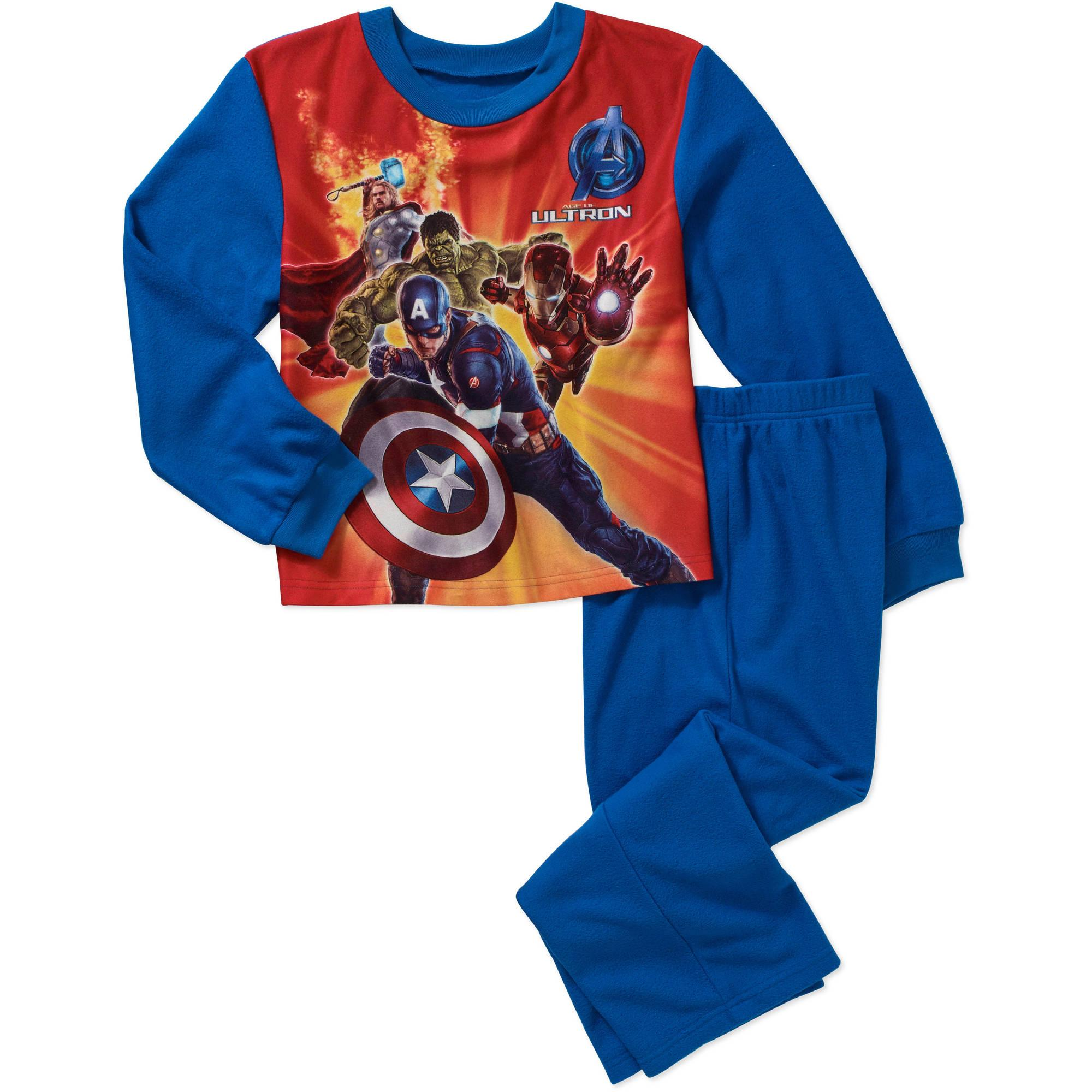 Boy's Avengers & TMNJ Pajama Sets ONLY $4.75 at Walmart!