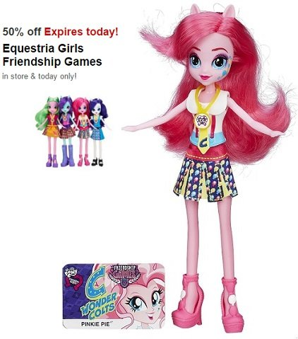 Equestria Girls Friendship Games Dolls ONLY $6.50 at Target!