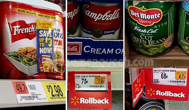 Green Bean Casserole – Cheap Fixin's at Walmart