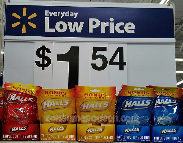 FREE Halls Cough Drops at Dollar Tree & Homeland + Walmart Deal!