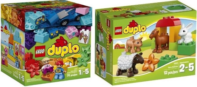 Up to 25% off Select LEGO Duplo Sets – Today ONLY on Amazon