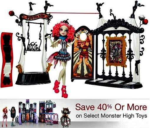 Monster High Dolls 40% Off on Amazon – Today ONLY!