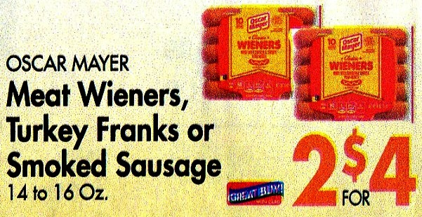 FREE Oscar Mayer Selects Turkey Franks at Homeland – Today ONLY