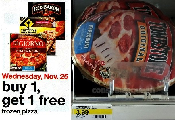 BOGO Free Pizza at Target – Today ONLY + Deals!
