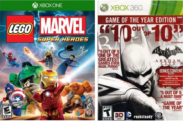 XBox One, XBox 360 Games Up to 75% Off - FREE Store Pickup!