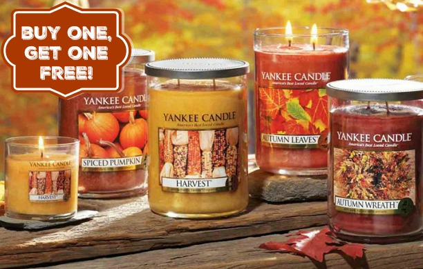 Yankee Candle – Buy 1, Get 1 FREE Coupons