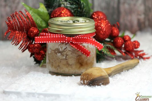 Cinnamon and Sugar Scrub 2