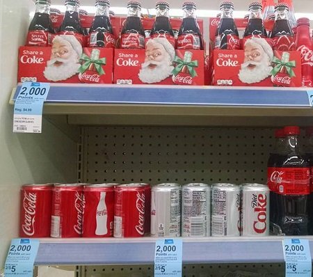 Coca-Cola Mini Cans 19¢ or Glass Bottles 25¢ at Walgreens