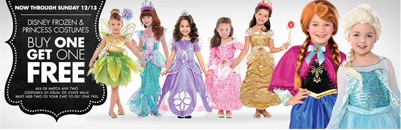 Disney Princess Costumes BOGO Free (as Low as $9.99 Each)