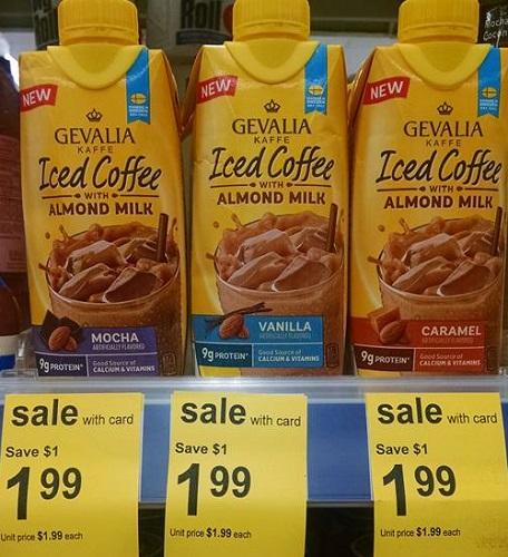 Gevalia Iced Coffee with Almond Milk