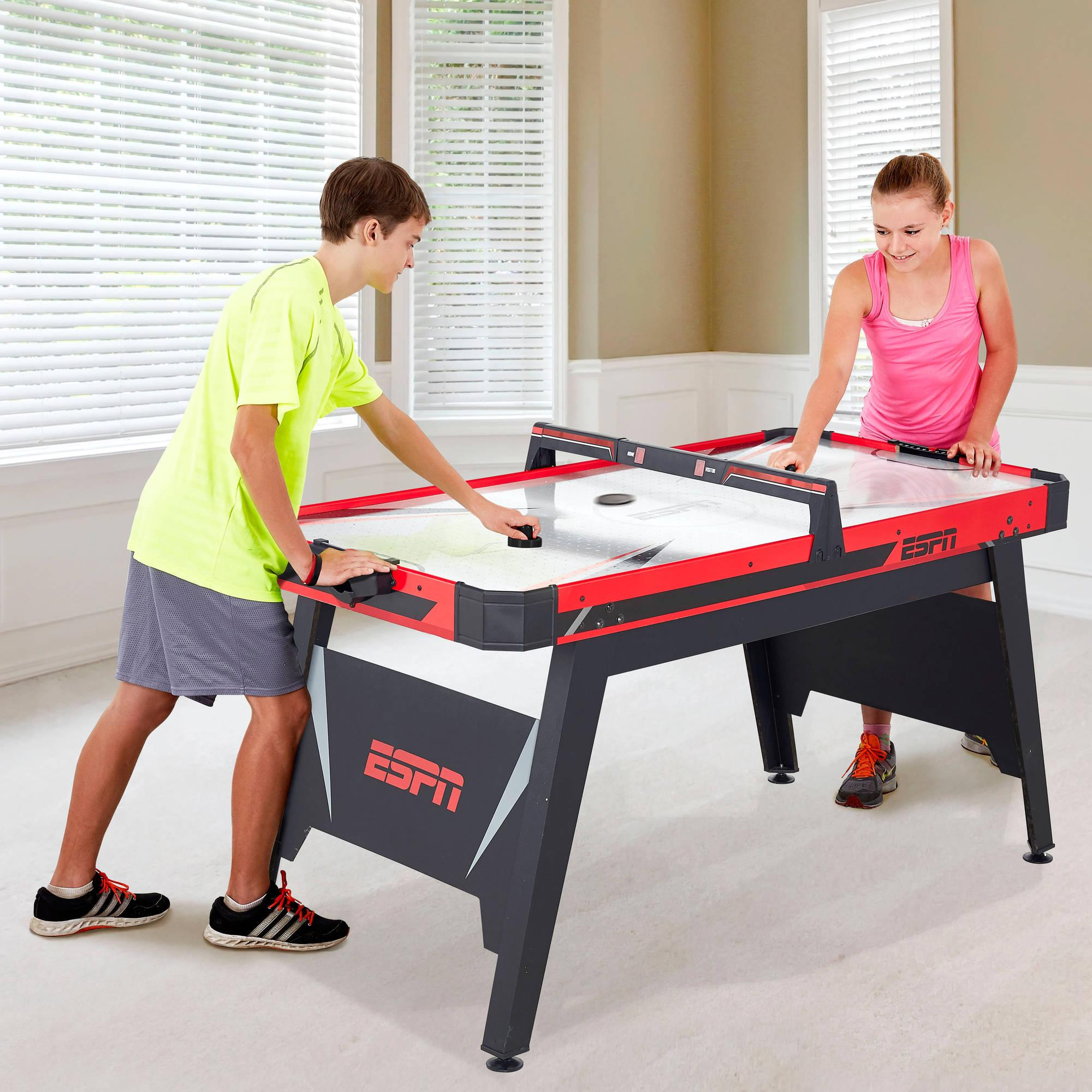 "Table Walmart: Walmart: ESPN 60"" Air-Powered Hockey Table Better Than"