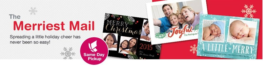 Personalized Holiday Cards 50% Off At Walgreens