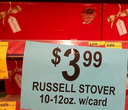 Russell stover coupon 2018