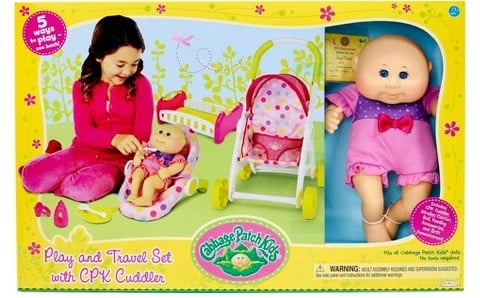 Cabbage Patch Kids Play & Travel $24.99 at Target – Today ONLY