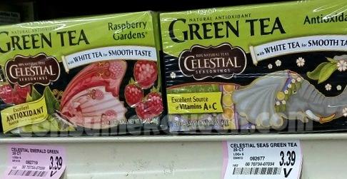 Celestial Seasonings Tea 63¢ at Target + Homeland Deal