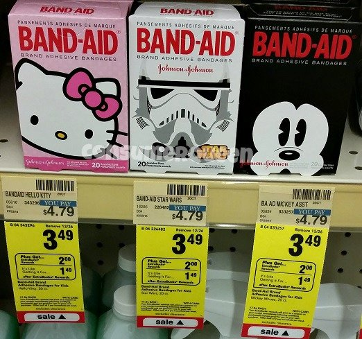 Decorative Band-Aids ONLY 99¢ at CVS!